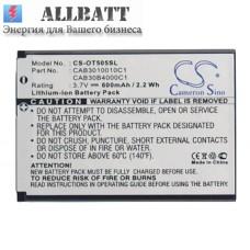 CameronSino аккумулятор для Alcatel CAB3010010C1 600mAh (CS-OT505SL)