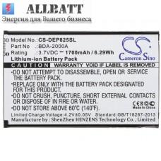 CameronSino аккумулятор для Doro Liberto 825 1700mAh (CS-DEP825SL)