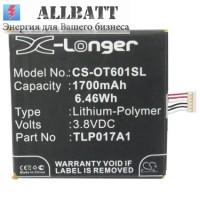 Аккумулятор CameronSino Alcatel OT-6012 (1700mAh)